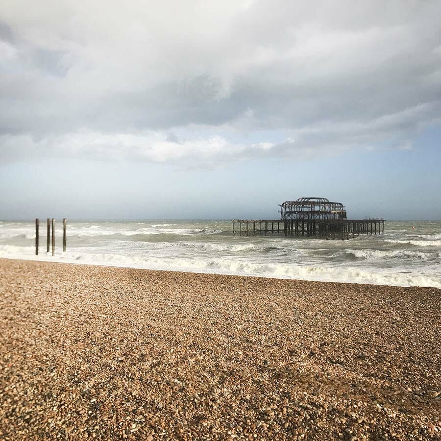 Brighton, UK, England | Travel photography and travel guide for foodies and explorers who will travel miles for good food by Jennifer from Miss Walter's