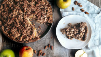 This lush Apple Crumble is perfect for vegan baking beginners. You cannot fail this recipe, promise. Perfect for those long winter months when the only local fruit available are apples.